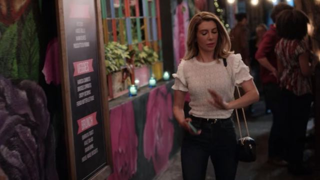 Zara White Top Worn By Wesley Nasim Pedrad In Desperados Spotern
