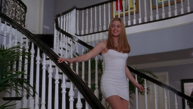 The white dress of Cher (Alicia Silverstone) in Clueless