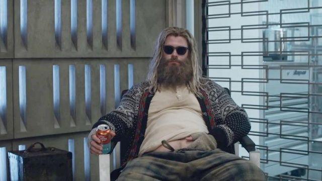 Sunglasses worn by Thor (Chris Hemsworth) as seen in Avengers: Endgame