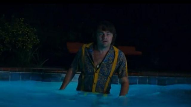 The striped shirt retro worn by Rick Dalton (Leonardo DiCaprio) in the film Once Upon a Time... in Hollywood (2019)
