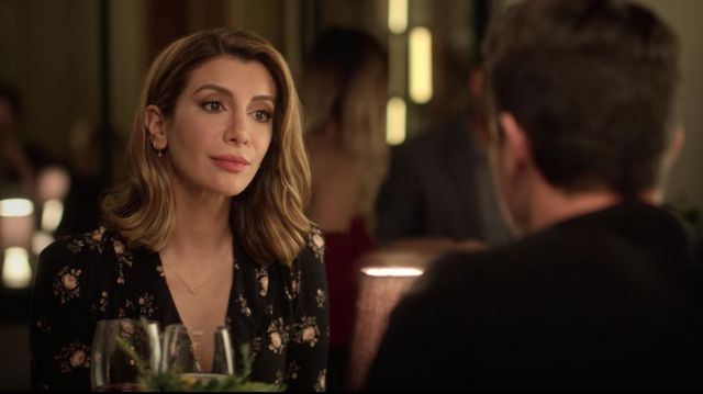 Black Floral Dress Worn By Wesley Nasim Pedrad In Desperados Spotern