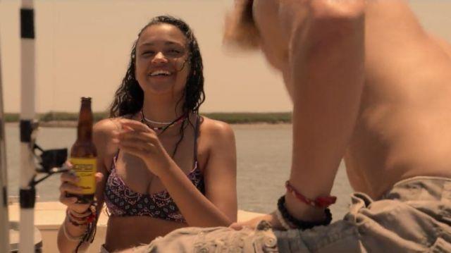 Purple Bikini worn by Kiara (Madison Bailey) in Outer Banks (S01E01)