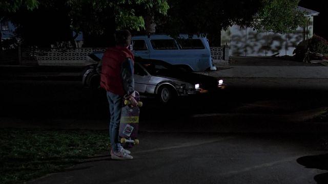 Les sneakers Nike portées par Marty McFly (Michael J. Fox) dans le film Retour vers le futur