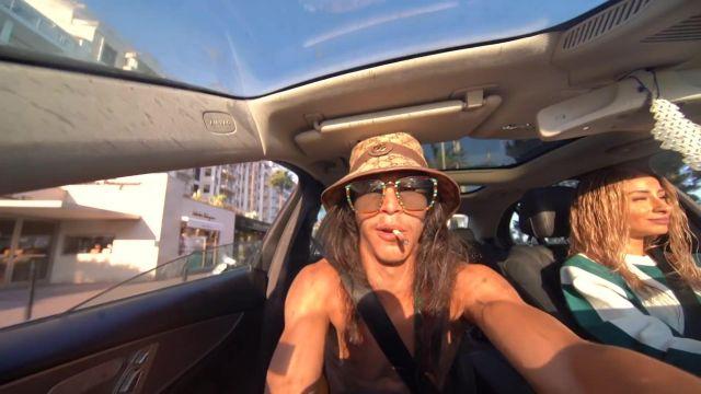 Le bob Gucci de Moha La Squale dans son clip Bébé de Bogota