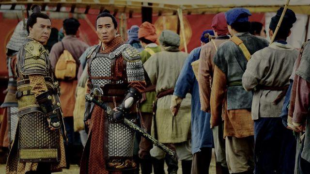 Armor worn by Sergeant Qiang (Ron Yuan) in Mulan