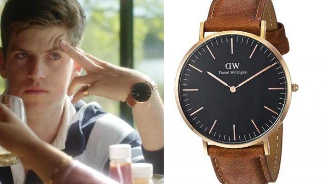 La montre de Guzmán Nunier (Miguel Bernardeau) dans Élite