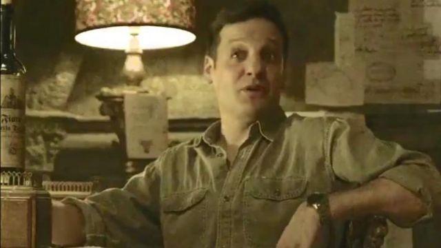 Shirt (Season 4, episode 8) worn by Palermo (Martín Berrote)  Rodrigo de la Serna in Money Heist