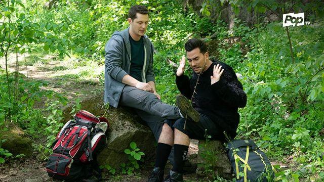 Rick Owens Dirt SS18 socks of David Rose (Daniel Levy) in Schitt's Creek (S05E13)