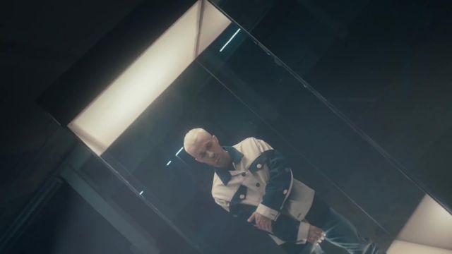 La veste Blue Marble portée par Squeezie dans son clip Guépard feat. Nemir