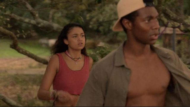 Crochet top worn by Kiara (Madison Bailey) in Outer Banks (S01E08)