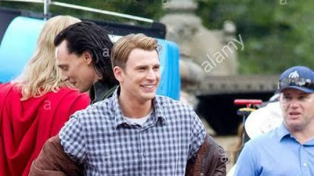 Check Shirt wore by Chris Evans in The Avengers (2012) of Steve Rogers / Captain America Chris Evans in The Avengers