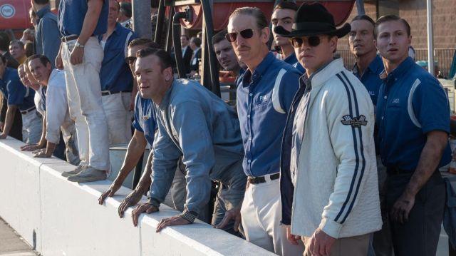 La veste blanche Ford de Carroll Shelby (Matt Damon) dans Le Mans 66