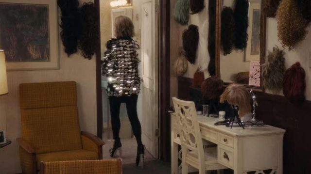 Dsquared2 Spine Heel Ankle Boots worn by Moira Rose (Catherine O'Hara) in Schitt's Creek (S05E05)