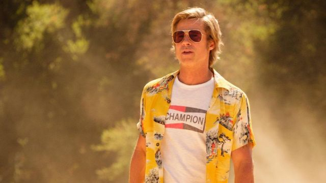 Printed Shirt worn by Cliff Booth (Brad Pitt) as seen in Once Upon a Time in Hollywood