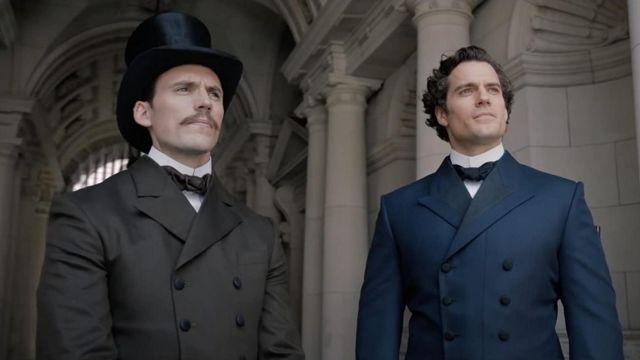 Black Top Hat worn by Mycroft Holmes (Sam Claflin) in Enola Holmes