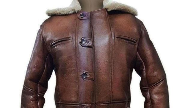 This jacket worn by Bane (Tom Hardy) in The Dark Knight Rises