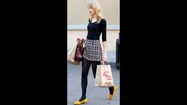 Ballerine portée par Taylor Swift dans Taylor Swift Styles Street Fashion Cool Styles Looks