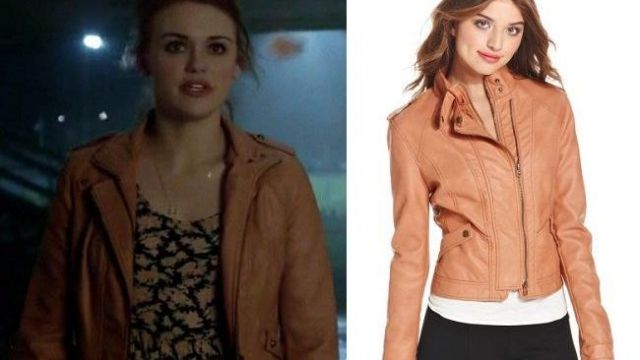 Super Cute Moto Jacket of Lydia Martin (Holland Roden) in Teen Wolf (S04E02)