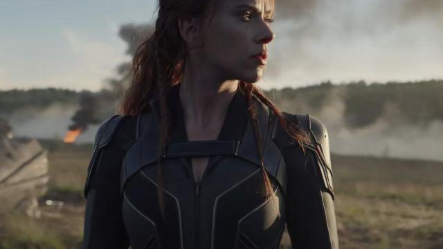 Biker Black Leather Jacket of Natasha Romanoff / Black Widow (Scarlett Johansson) in Black Widow