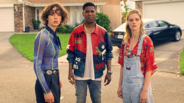 Urban Outfitters Nebula Mesh Top worn by Billie (Brigette Lundy-Paine) in Bill & Ted Face the Music
