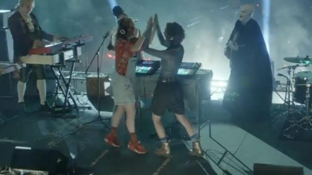 Red Nike Air Max 90 worn by Thea (Samara Weaving) in Bill & Ted Face the Music