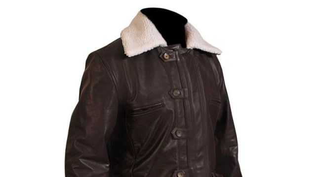 This jacket is worn by Bane (Tom Hardy) in The Dark Knight Rises