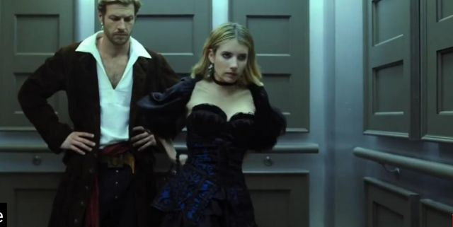 Dress Of The Date Halloween Worn By Sloane Emma Roberts In The Movie Holidate Spotern