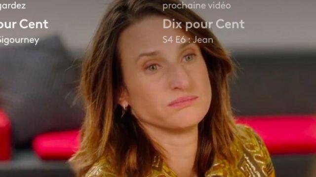 Boucle d'oreille à chaîne de Andréa Martel (Camille Cottin) dans Dix Pour Cent (S04E05)