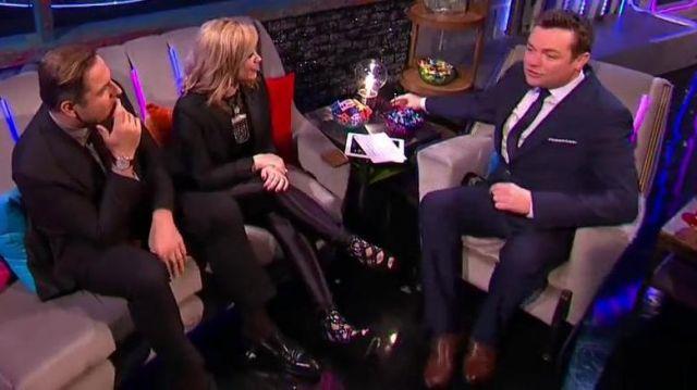 Shoes worn by Demi Lovato in Demi Lovato and David Walliams compare notes on Simon   Semi-Final 3   Britain's Got Talent 2013