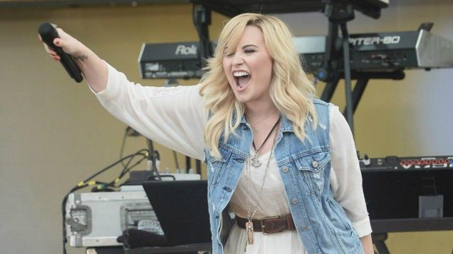 Jacket worn by Demi Lovato on the show Good Morning America