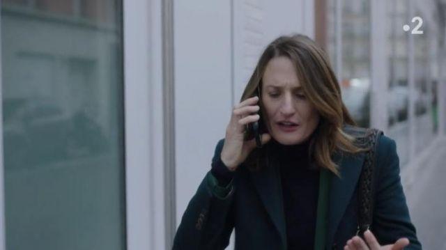 Blazer vert de Andréa Martel (Camille Cottin) dans Dix Pour Cent (S04)