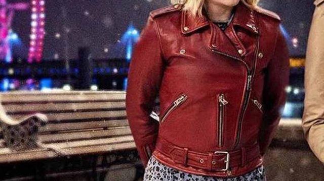 Genuine Leather Jacket of Kate (Emilia Clarke) in Last Christmas