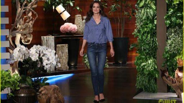 Chaussures portée par Katie Holmes dans l'émission The Ellen DeGeneres Show