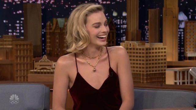 Top portée par Margot Robbie dans l'émission The Tonight Show Starring Jimmy Fallon