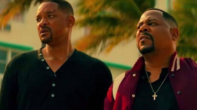 Black Button Sweater worn by Mike (Will Smith) as seen in Bad Boys for Life
