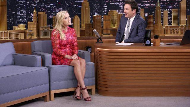 Chaussures portée par Reese Witherspoon dans l'émission The Tonight Show Starring Jimmy Fallon
