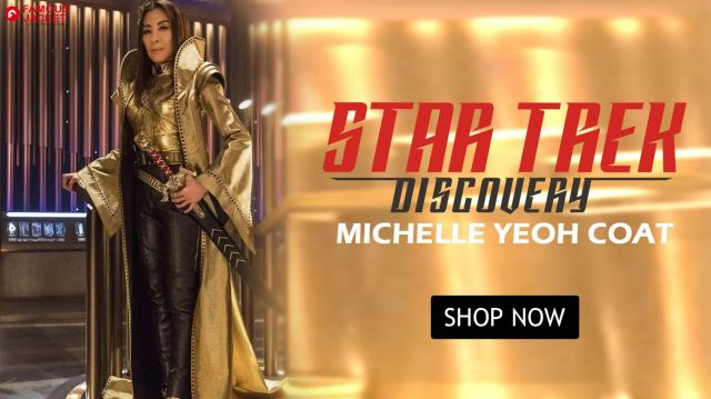 Star Trek Discovery Michelle Yeoh Coat worn by Michelle Yeoh (Michelle Yeoh) in Star Trek