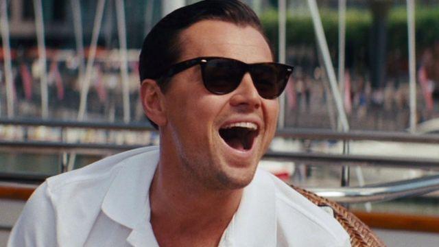 The Wolf of Wallstreet Sunglasses of Jordan Belfort (Leonardo DiCaprio) in The Wolf of Wall Street