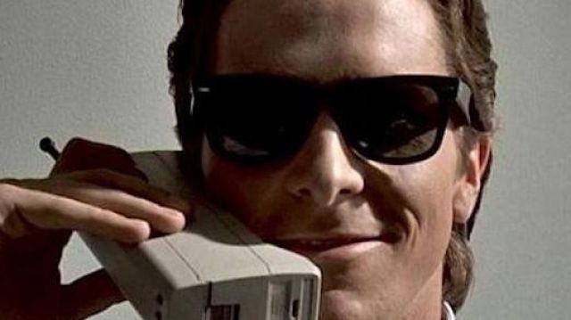 Ray Ban Sunglasses of Patrick Bateman (Christian Bale) in American Psycho