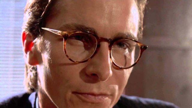 Oliver Peoples Glasses of Patrick Bateman (Christian Bale) in American Psycho