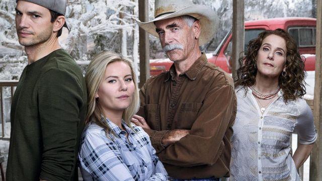 Brown button long sleeve shirt de Beau Bennett (Sam Elliott) dans The Ranch