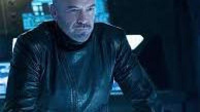 Star Trek Discovery Season 2 Alan Van Sprang (Leland) Black Leather Jacket