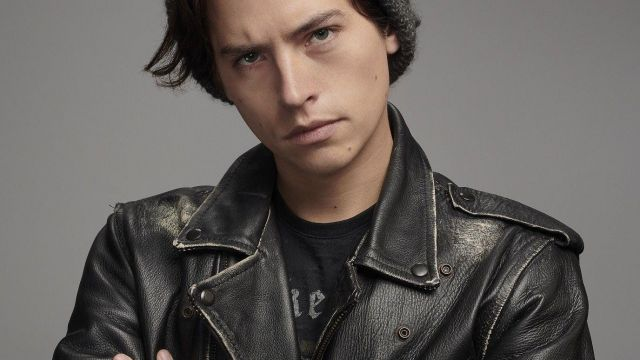 Riverdale Southside Serpents Leather Jacket Inspired By Cole Sorouse Jughead Jones (Cole Sprouse) in Riverdale (S01E01)