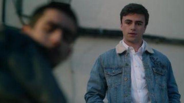 Jacket of Samuel Garcia (Itzan Escamilla) in Elite (S01E01)