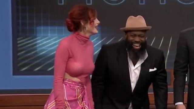 Body portée par Bella Thorne dans l'émission The Tonight Show Starring Jimmy Fallon