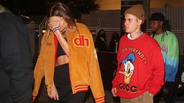Sweatshirt porté par Justin Bieber dans la vidéo Justin Bieber and wife Hailey attend Billboard Awards after-party