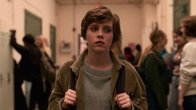 Corduroy Jacket worn by Sydney Novak (Sophia Lillis) in I Am Not Okay with This (S01E01)