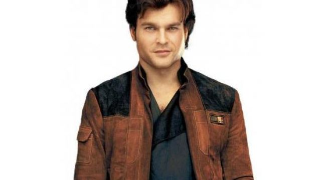 A Star wars Story Han Solo Brown Jacket worn by Han Solo (Alden Ehrenreich) in Solo: A Star Wars Story