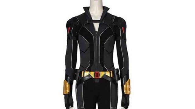 2021 Black Widow Jumpsuit Costume worn by Natasha Romanoff / Black Widow (Scarlett Johansson) as seen in Black Widow