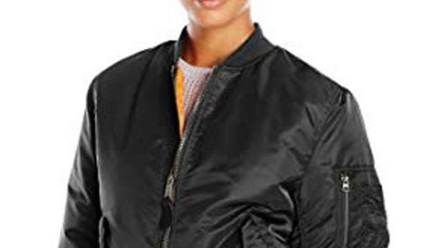 Black Widow 2021 Bomber Jacket worn by Natasha Romanoff / Black Widow (Scarlett Johansson) as seen in Black Widow